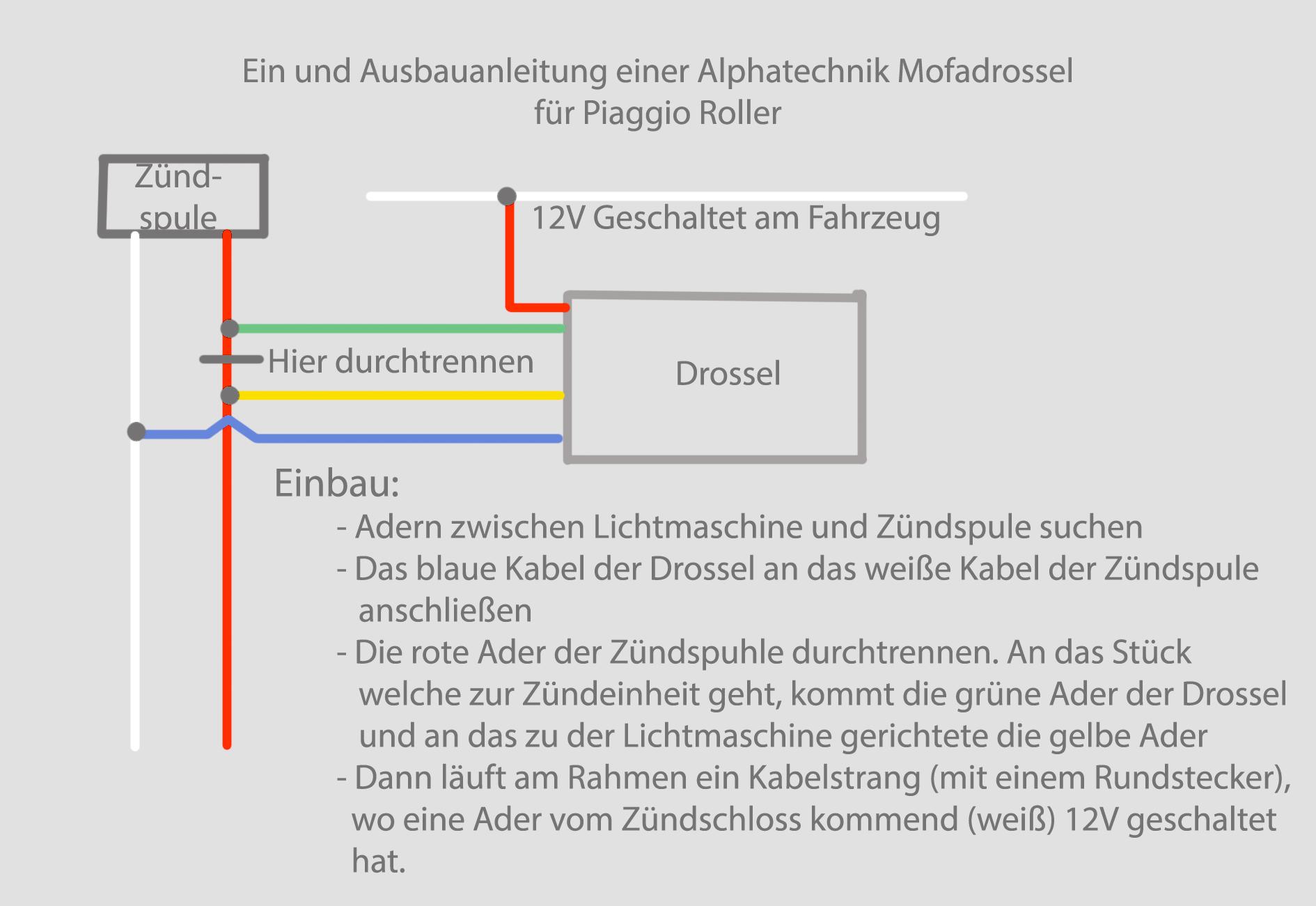 Funkschalter für AlphaTechnik Drossel? - Technisches Tuning ...