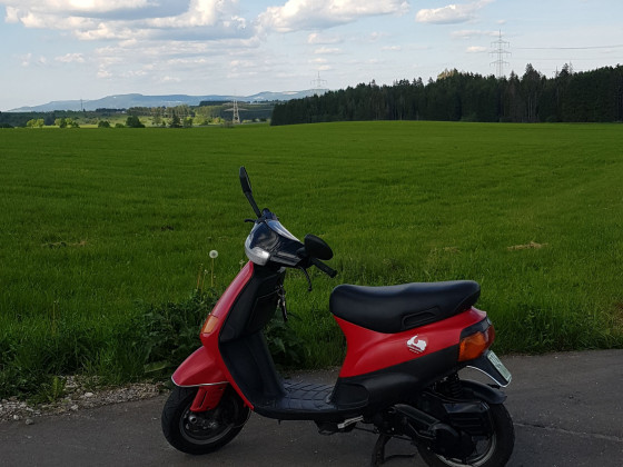 Schön durch den schönen Schwarzwald. Mit dem Roller macht es auch Spass !