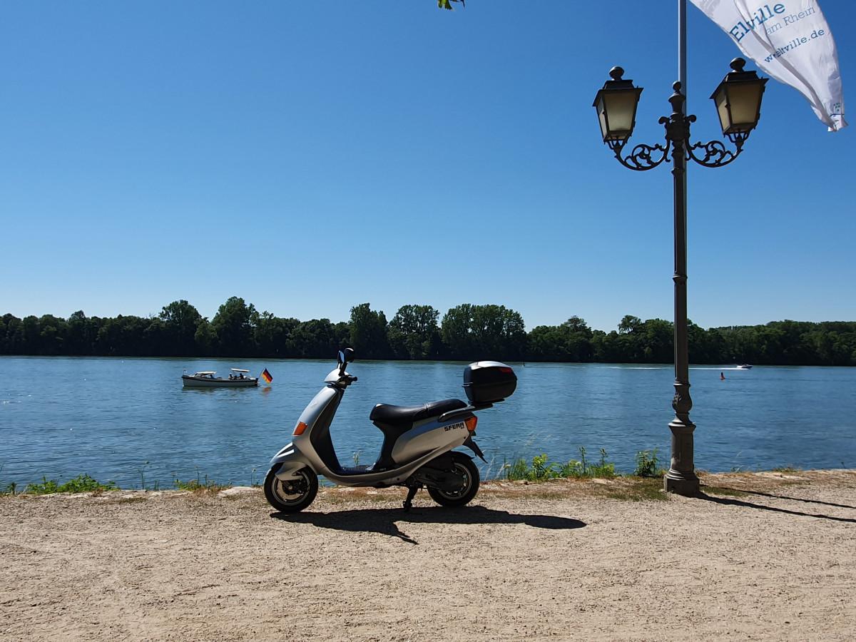 Tour an den Rhein