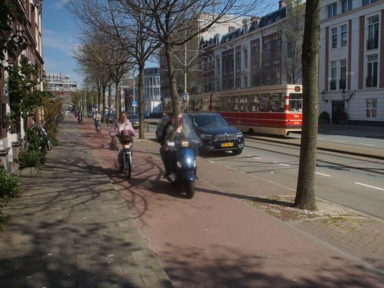 Rollerfahren in den Niederlanden