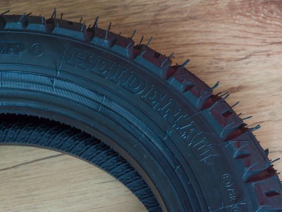 Neue Pelle wieder: Heidenau K58 M+S Snotex Reifen -> meine lieblingsreifen auf den Rollern